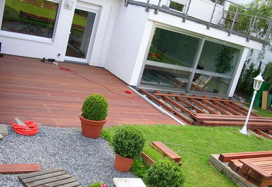 Gartengestaltung Mit Holzterrasse ~ Wohndesign und Möbel Ideen