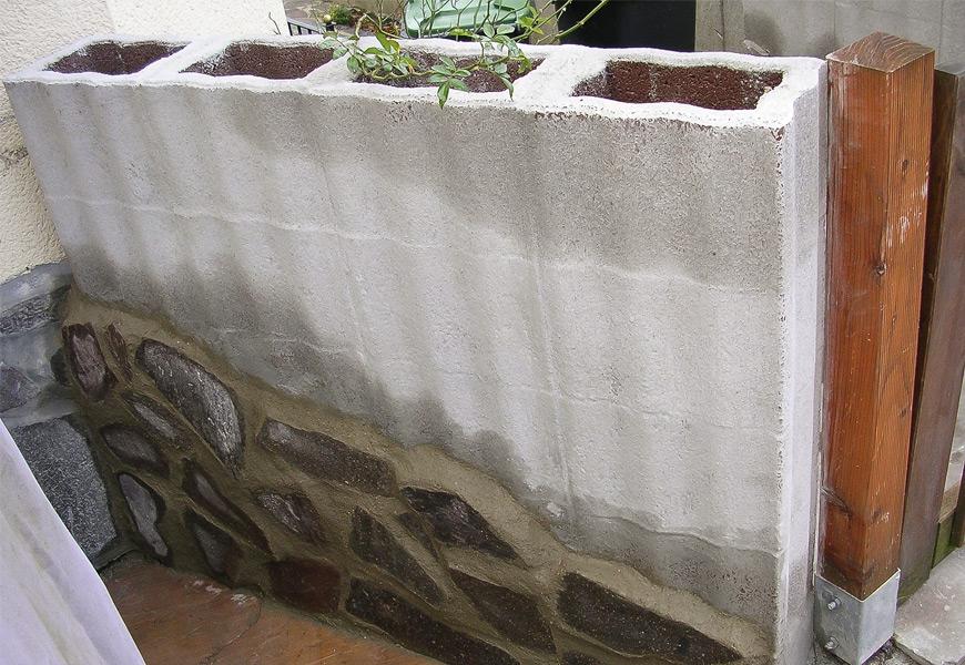 Steinmauersanierung